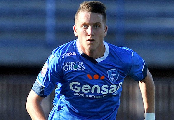 Liverpool are keeping close tabs on Polish star Piotr Zielinski