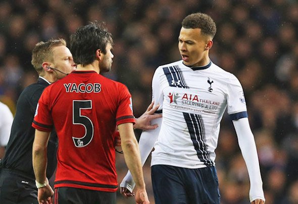 Dele Alli could be hit with a three-match ban