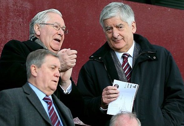 David Bernstein and Mervyn King quit the Aston Villa board
