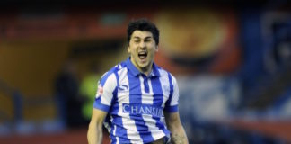 Fernando Forestieri gets a huge amount of rough treatment from defenders