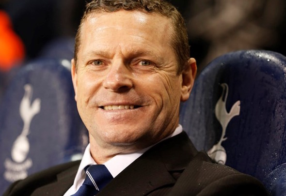 Former Tottenham midfielder Micky Hazard is a big follower of the team