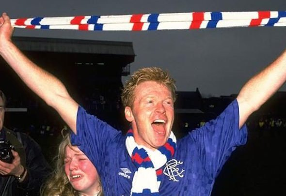 Mo Johnston played for Celtic and Rangers during his controversial career