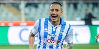 Tottenham scouts are eyeing Pescara striker Gianluca Lapadula