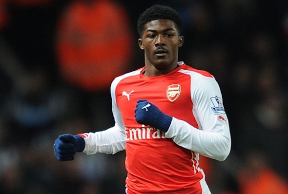 Arsenal youngster Ainsley Maitland-Niles is on loan at Ipswich
