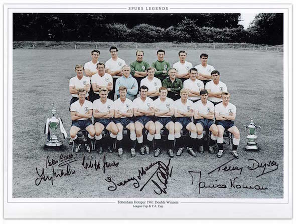 spurs signed photo image