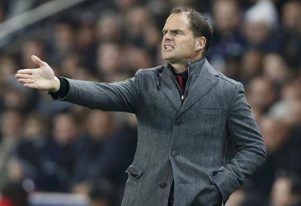 Frank de Boer has left Ajax
