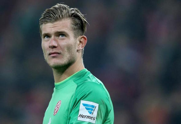Loris Karius has been targeted by Liverpool