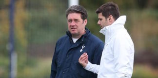 John McDermott is the Tottenham head of player development