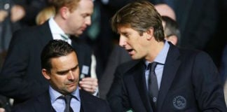 Everton are eyeing a move for Marc Overmars