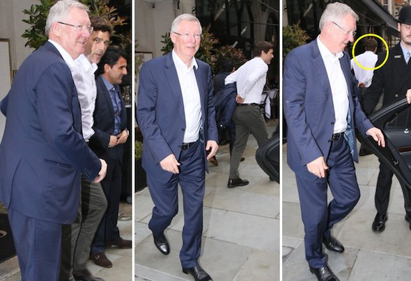 Mauricio Pochettino and Sir Alex Ferguson met for lunch in London