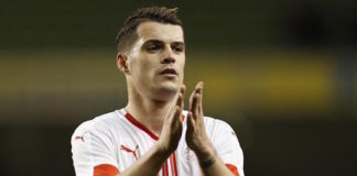 Granit Xhaka is set to leave Borussia Mochengladbach