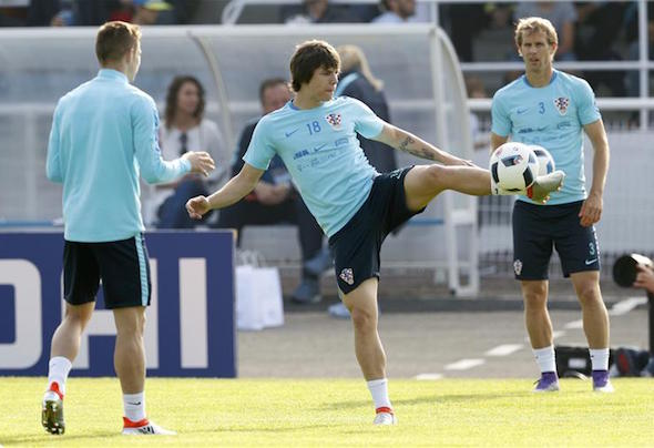 Ante Coric training