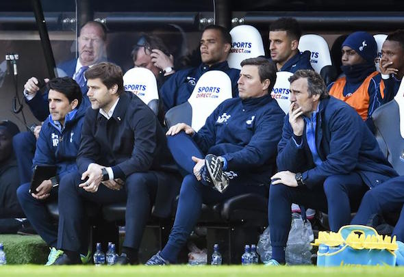 Mauricio Pochettino + staff