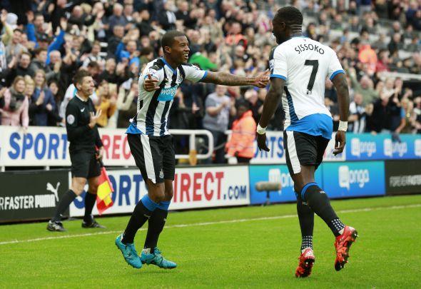 Newcastle - Moussa Sissoko + Georginio Wijnaldum