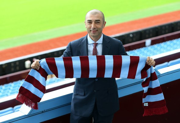 Britain Football Soccer - Aston Villa - Dr Tony Xia & Roberto Di Matteo Press Conference - Villa Park - 15/6/16 New manager Roberto Di Matteo poses after the press conference Action Images via Reuters / Matthew Childs Livepic EDITORIAL USE ONLY.