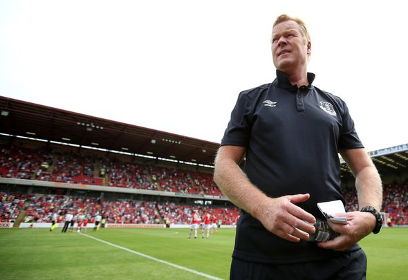 Britain Football Soccer - Barnsley v Everton - Pre Season Friendly - Oakwell - 23/7/16 Everton manager Ronald Koeman before the match Action Images via Reuters / Peter Cziborra Livepic