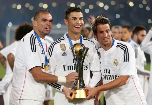coentrao + Pepe + Ronaldo