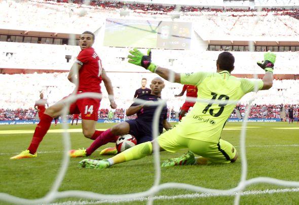Mascherano + Henderson + Liverpool vs Barcelona