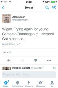 Alan Nixon Tweet 2