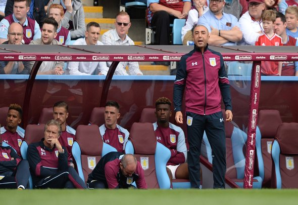 Britain Football Soccer - Aston Villa v Middlesbrough - Pre Season Friendly - Villa Park - 16/17 - 30/7/16 Aston Villa manager Roberto Di Matteo Action Images via Reuters / Alan Walter