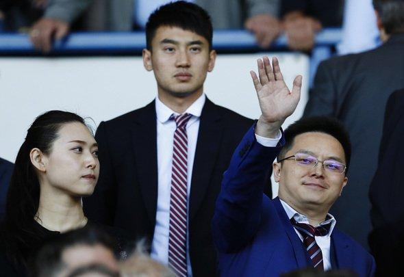 Football Soccer Britain - Sheffield Wednesday v Aston Villa - Sky Bet Championship - Hillsborough - 7/8/16 Aston Villa owner Dr Tony Xia in the stands Mandatory Credit: Action Images / Jason Cairnduff Livepic EDITORIAL USE ONLY.