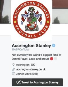 Accrington Twitter