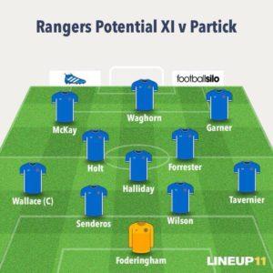 rangers-line-up