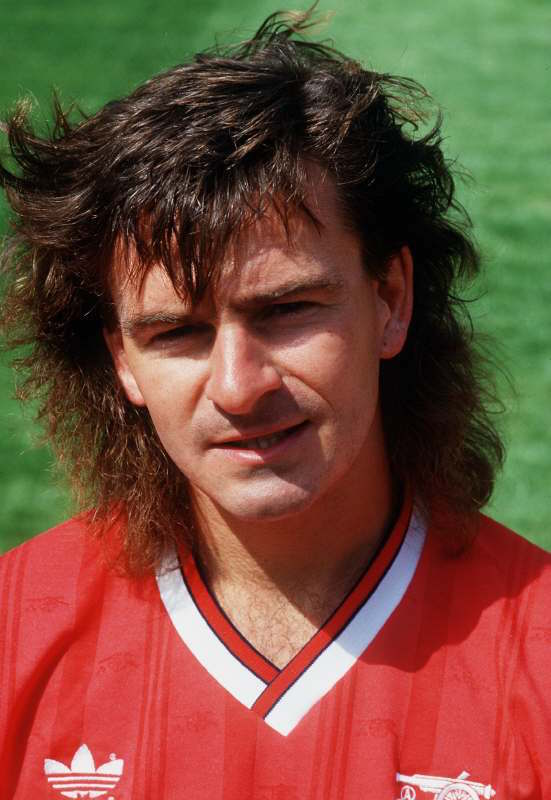 Charlie Nicholas Arsenal Football Mandatory Credit: Action Images / Sporting Pictures