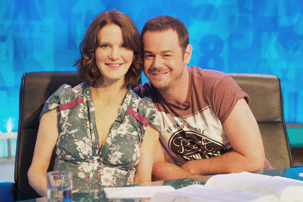 Susie Dent and Danny Dyer
