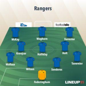 Rangers best line up