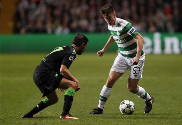 Celtic boss Brendan Rodgers calls Scott Brown
