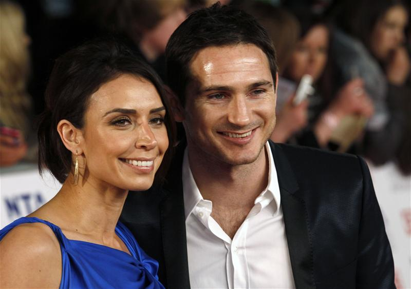 Frank Lampard and wife Christine