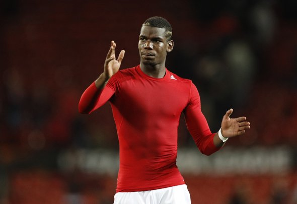 Britain Soccer Football - Manchester United v FC Zorya Luhansk - UEFA Europa League Group Stage - Group A - Old Trafford, Manchester, England - 16/17 , 29/9/16 Manchester United's Paul Pogba Reuters / Darren Staples  EDITORIAL USE ONLY.