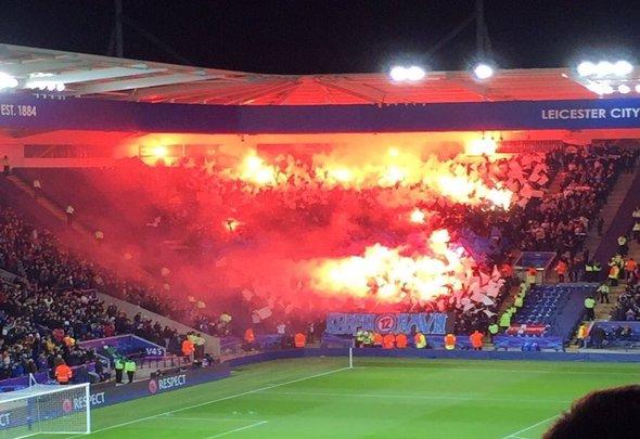 FC Copenhagen fans