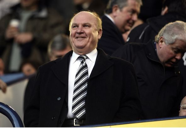 Freddie Shepherd the former chairman of Newcastle United