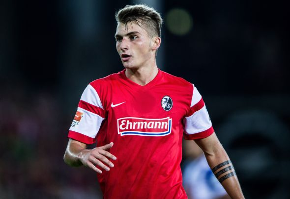 Maximilian Philipp looks on for his German club SC Freiburg