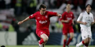 Vladimir Smicer during his playing days at English Premier League club Liverpool