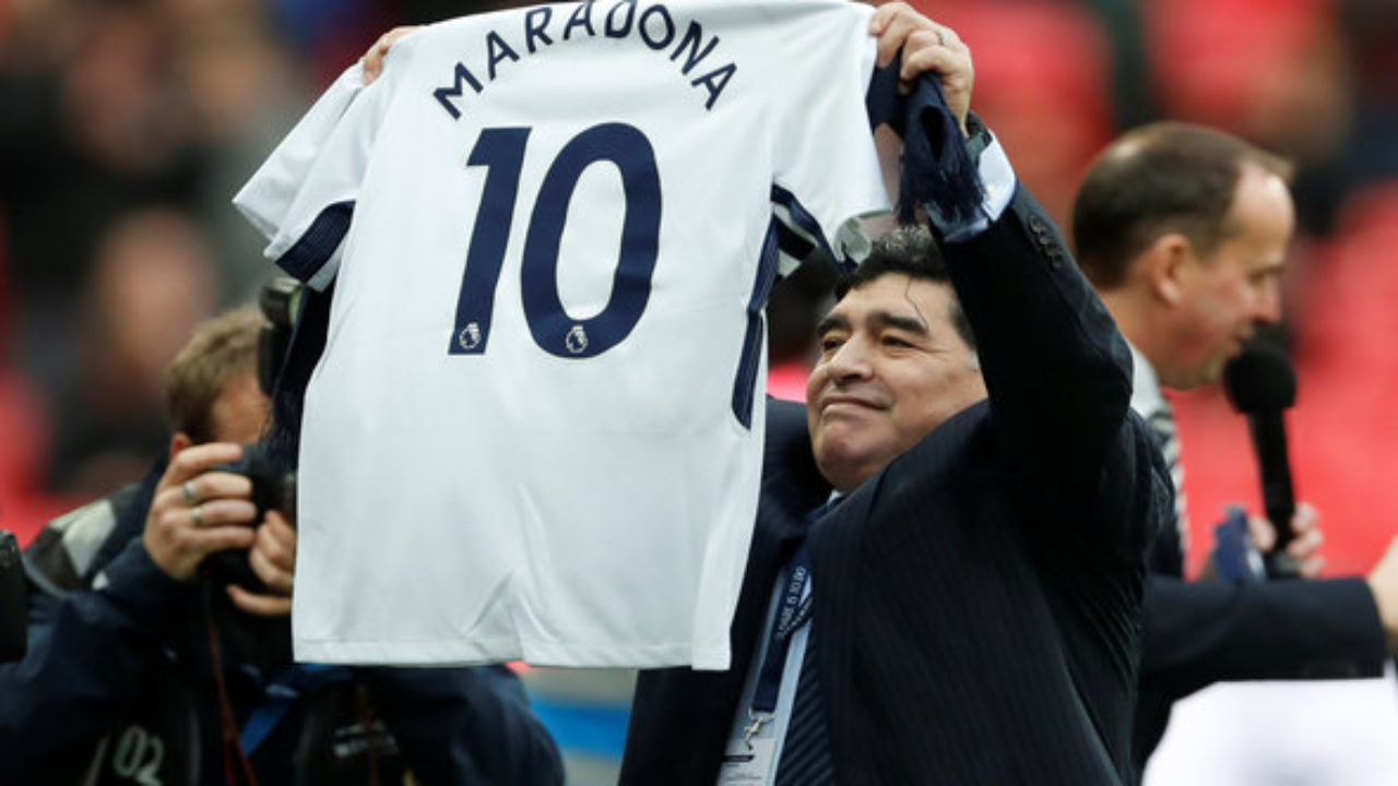 Tottenham News Ardiles Claims Maradona Impressed By Spurs