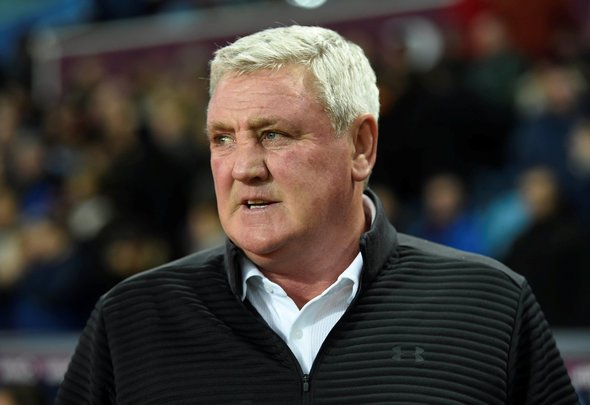 Newcastle United manager Steve Bruce