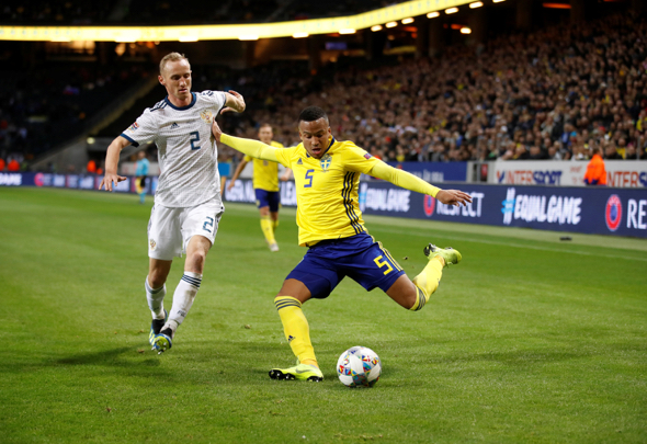 Martin Olsson offered West Brom trial West Bromwich Albion