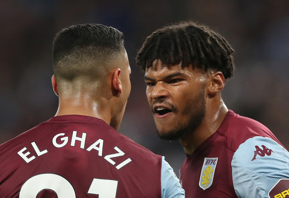 Aston Villa defender Tyrone Mings