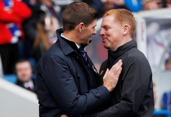 Celtic manager and Rangers manager