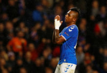 Rangers attacker Alfredo Morelos says sorry