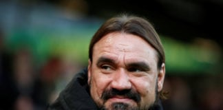 Norwich City manager Daniel Farke