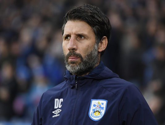 Huddersfield Town manager Danny Cowley