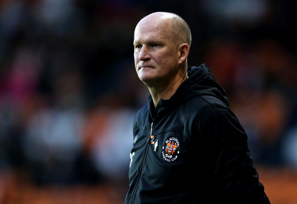 Blackpool manager Simon Grayson