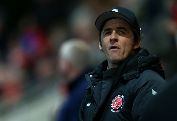 Fleetwood Town manager Joey Barton ponders changes
