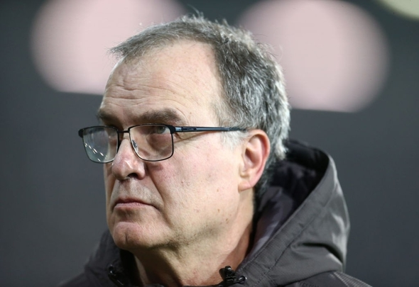 Leeds United manager Marcelo Bielsa
