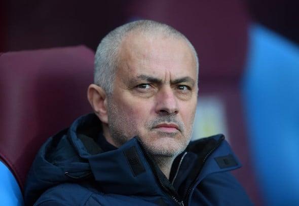 Jose Mourinho dugout.