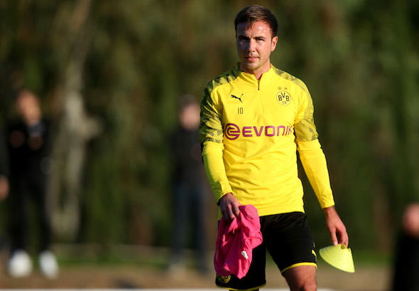 Gotze to leave Dortmund by 'mutual consent'